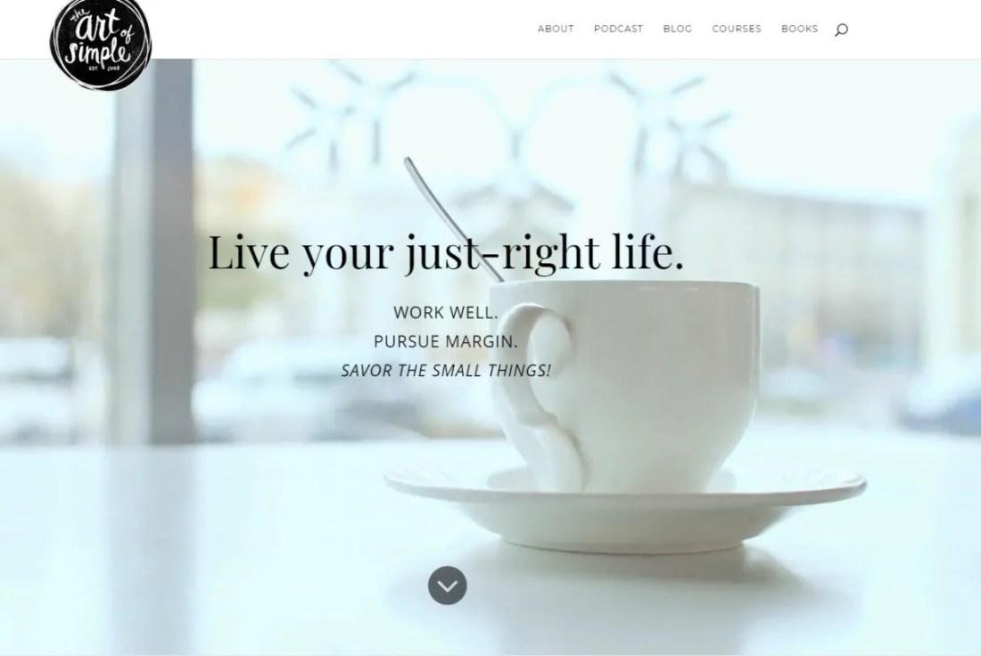 Blog Ibu Rumah Tangga Sukses The Art of Simple