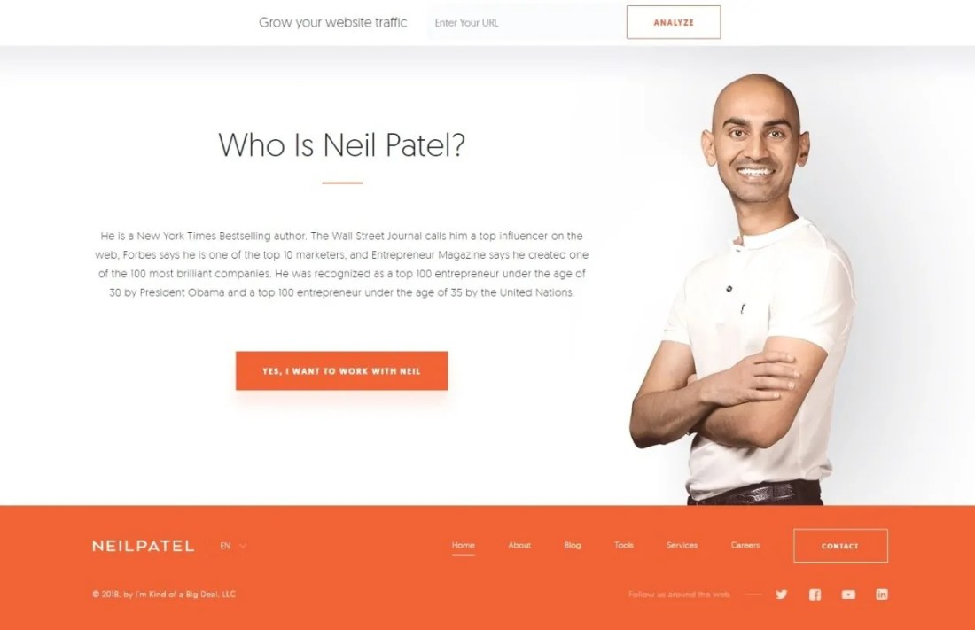 Blog Neil Patel Affiliate Marketing