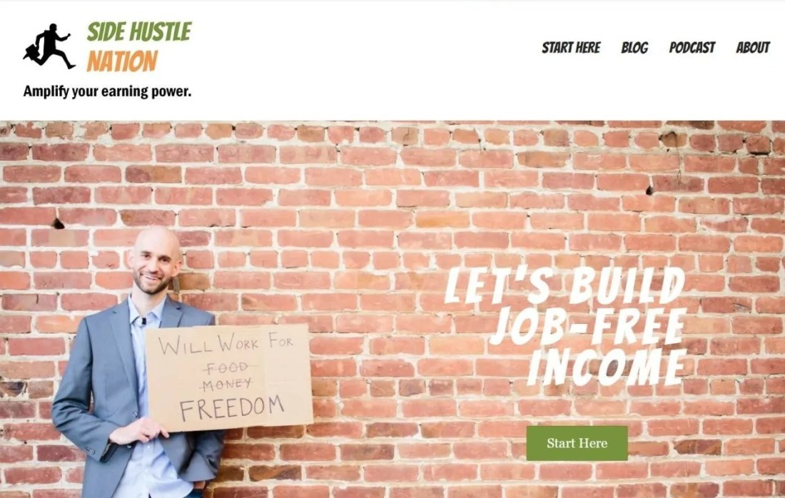 Blog Nick Loper Side Hustle Nation Internet Marketing