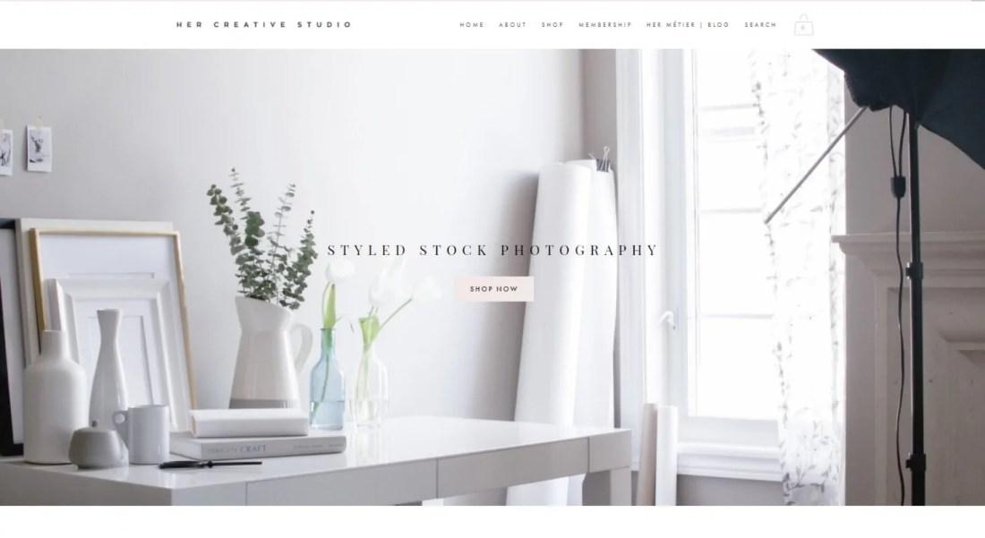 Tempat Beli Foto Keren Untuk Blog Her Creative Studio