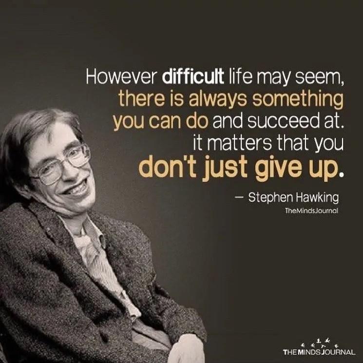 Teori, Fakta, dan Kehidupan Seorang Stephen Hawking