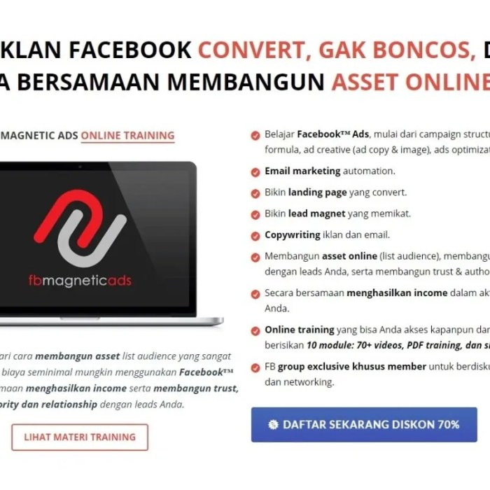 Review FB Magnetic Ads by Tantan Hilyatana