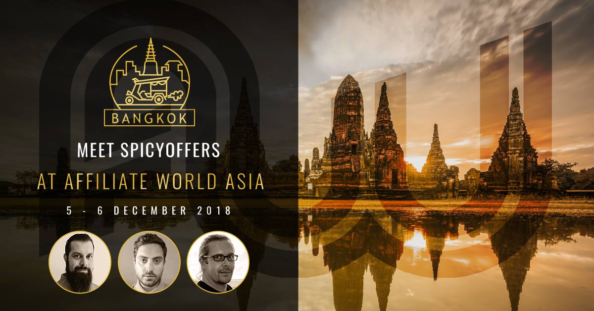 meet spicyoffers at affiliate world asia bangkok - Spicyoffers reviews