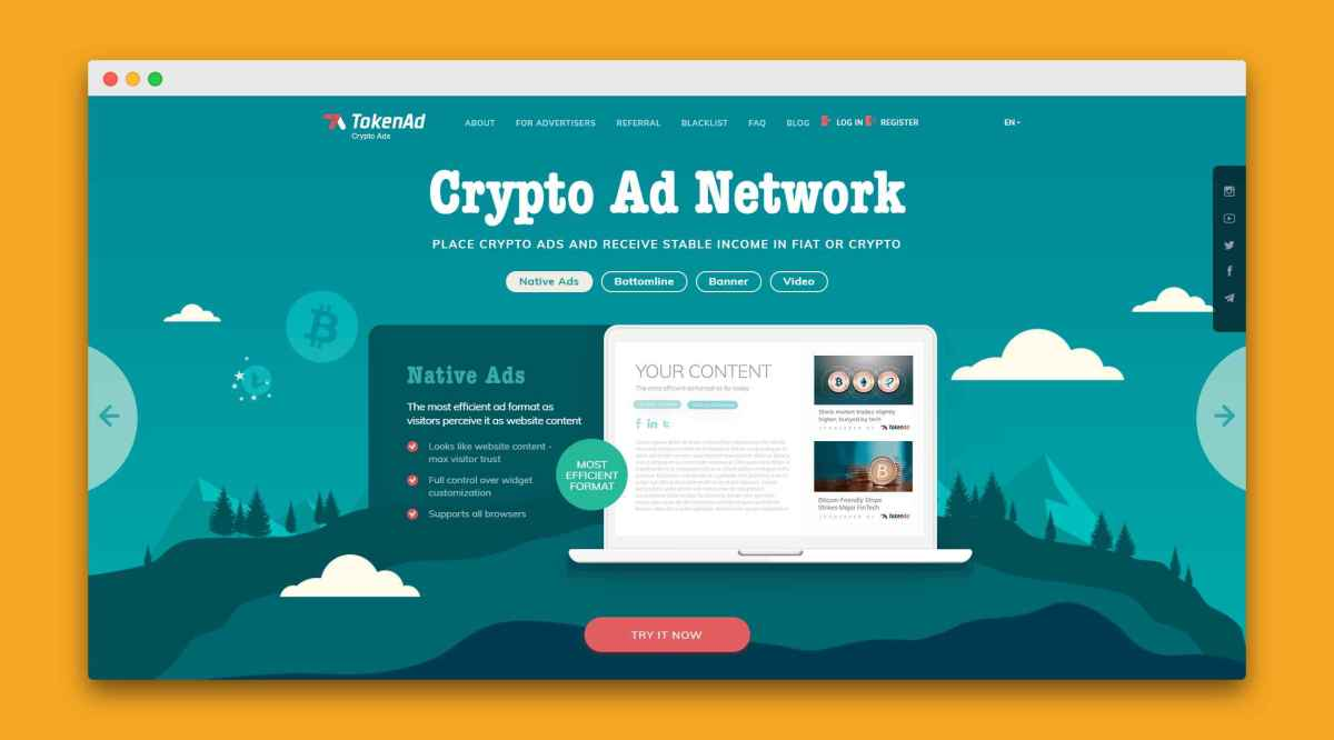Top Crypto Advertising Networks to Advertise your next ICO launch with