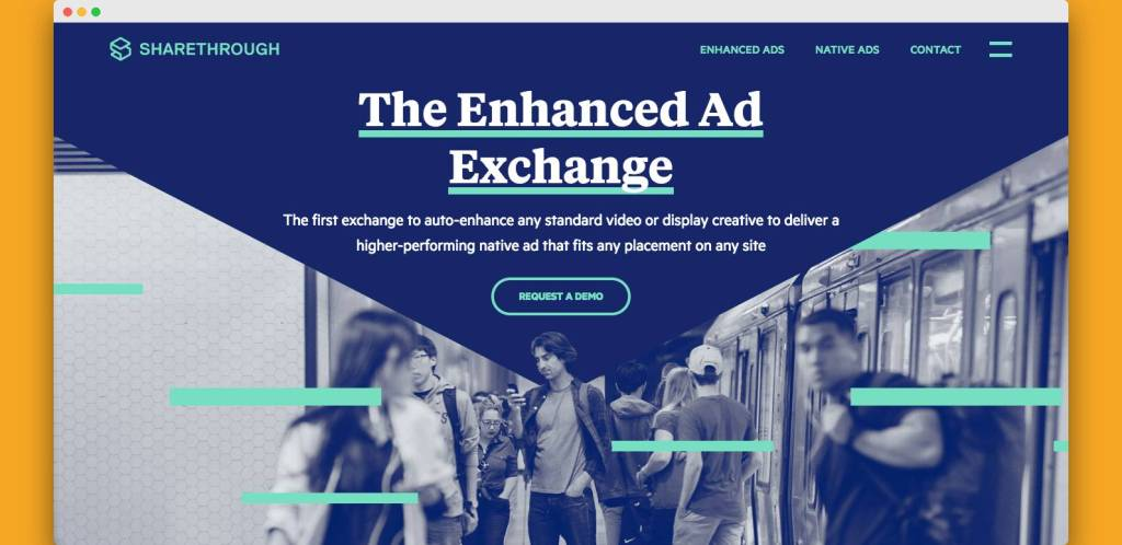 sharethrough native ad network