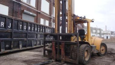 25,000 lb  Capacity Clark Forklift For Sale | Call 616-200