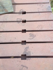 Bolster Plate Floor One Available