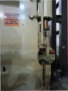 Clearing Niagara Flange Bed Press Brake pic 3