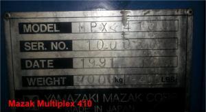 Mazak Multiplex 410 pic 16