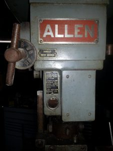 Allen Drill Press (5)