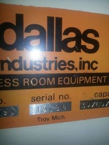 Dallas reel & straightener