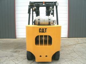 cat forklift 10000lb gc45k