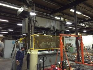 Dake Hydraulic Straightening Press