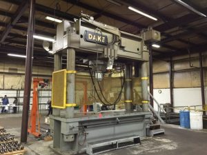 600 Ton Straightening Press