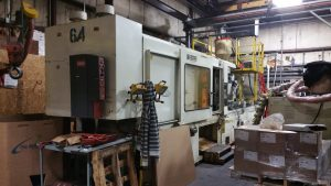 cininnati plastic injection molding machine 500 Ton