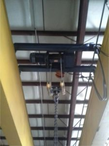 10 Ton Demag Overhead Bridge Crane For Sale 1