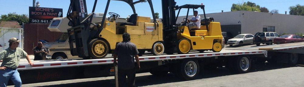 Used Royal 30000lb Forklift For Sale 1