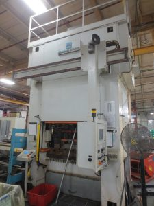 Used 200 Ton Manzoni Press with feedline For Sale
