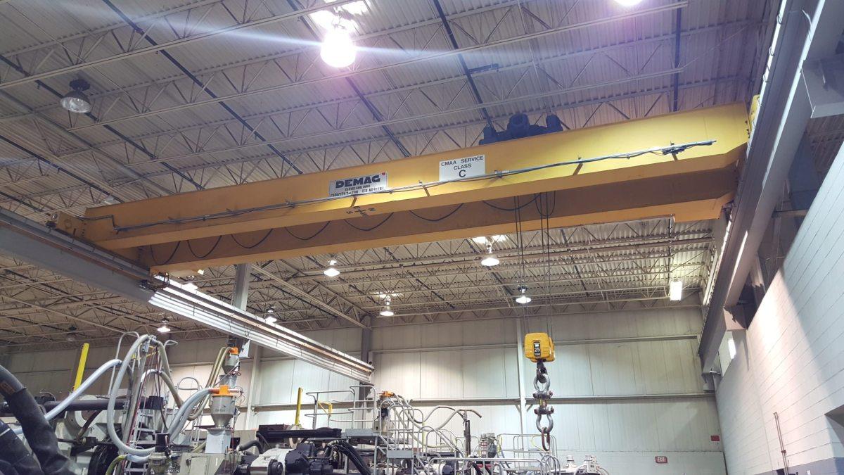 25 Ton Demag Overhead Bridge Crane For Sale Call 616 200
