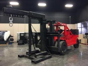 100000lb Bristol Riggers Special Forklift For Sale