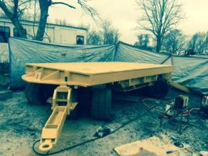 Used 100 Ton Die Cart For Sale