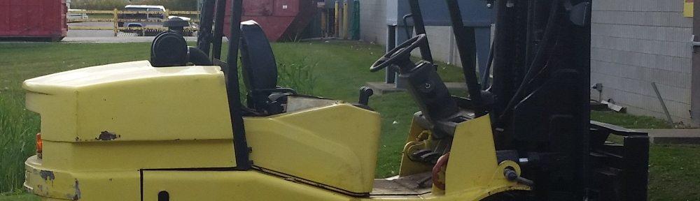 18,000lb. Hoist T180 Forklift For Sale