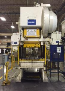 250 Ton Bliss C-250 Stamping Press For Sale Used