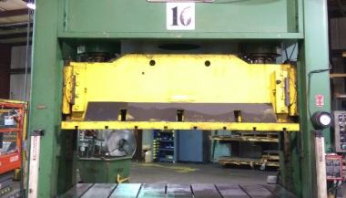 150 Ton Federal Hydraulic Spotting Press For Sale | Call 616