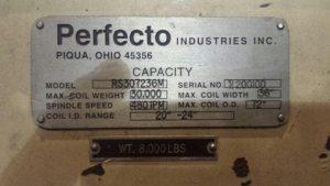 30,000lb. Capacity Perfecto Coil Reel (5)