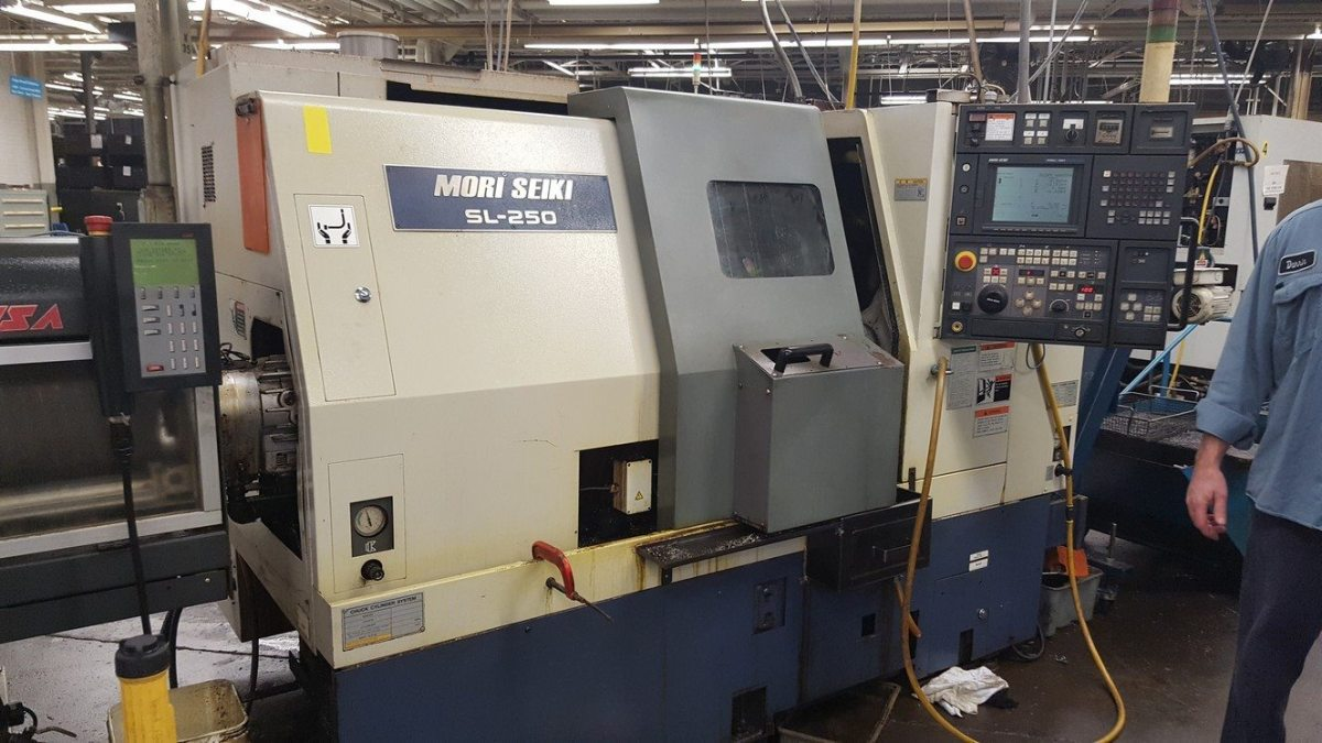Mori Seiki Sl 250 Cnc Lathe Turning Center For Sale Call