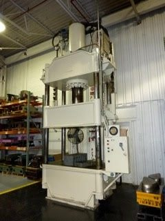300 Ton Capacity Dake Four Post Hydraulic Press For Sale