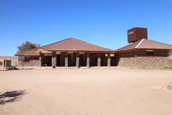Hobas Campsite - entrance