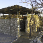 Etosha Village Camp site - private facilities