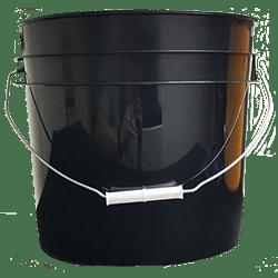 3.5 gallon pail black