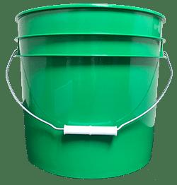 3.5 gallon pail green