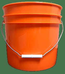 3.5 gallon pail orange