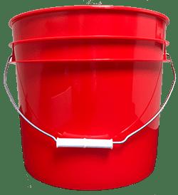 3.5 gallon pail red