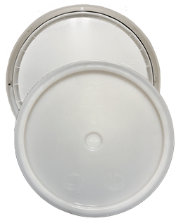 345 round pail lid natural