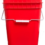 4 gallon container red