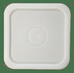 4 gallon square lid natural
