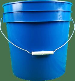 4.25 gallon pail chevron blue