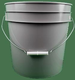 4.25 gallon pail grey