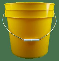 4.25 gallon pail yellow