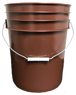 5 gallon pail brown