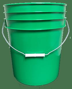 5 gallon pail green
