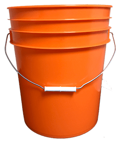 5 gallon pail orange