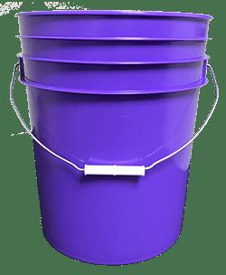 5 gallon pail purple