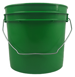 1 gallon bucket green