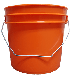 1 gallon pail orange