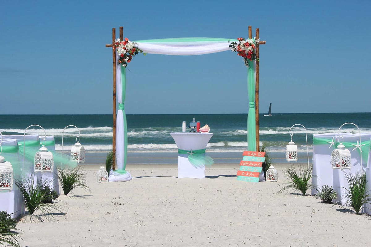 Affordable Daytona Beach Weddings  Elegent Venues and Packages